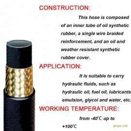高压胶管厂家【天拓】专业生产高压胶管�蚋哐褂凸芙油�