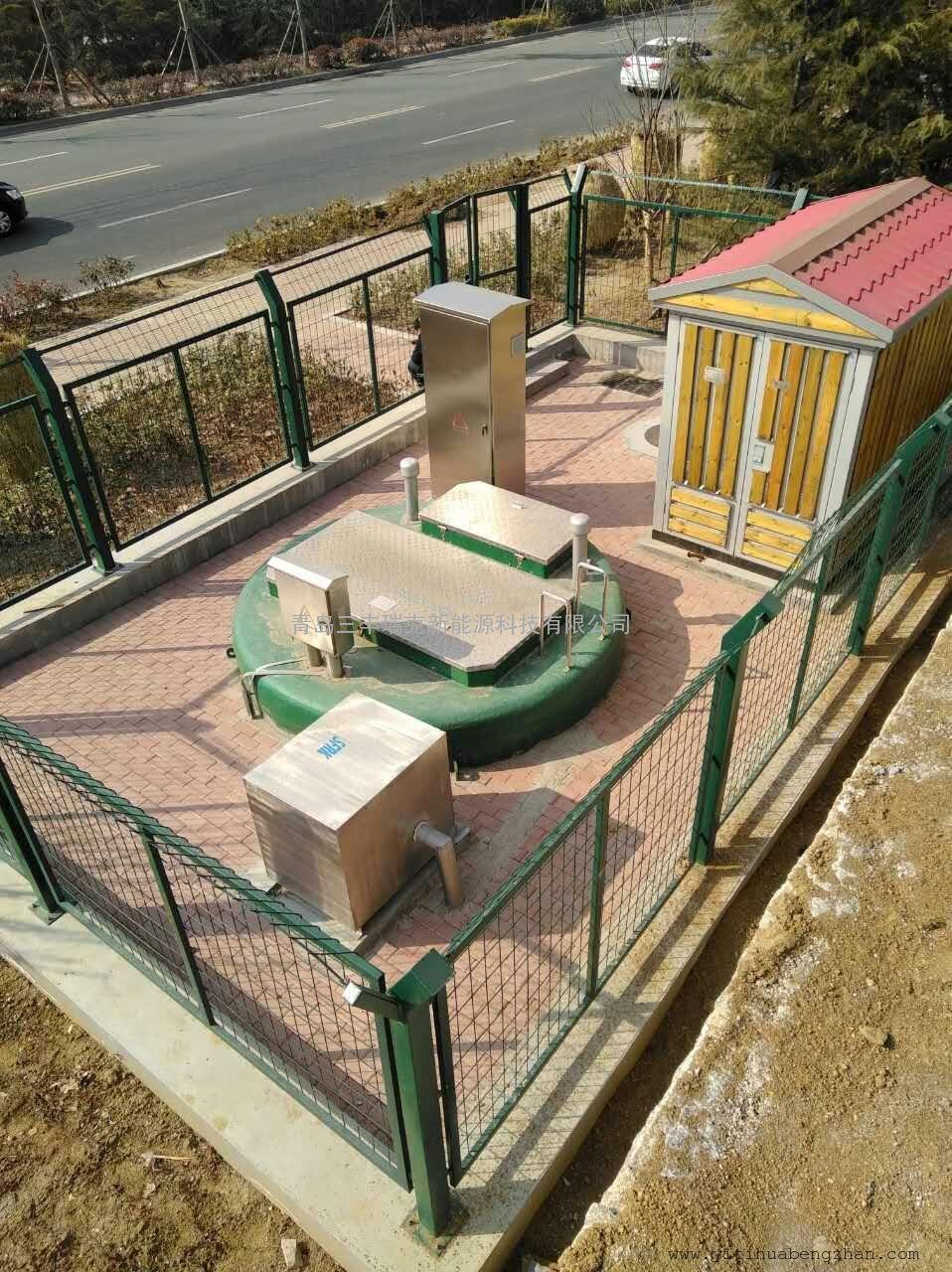 河北省三河县SFRK-WYB预制提升泵站