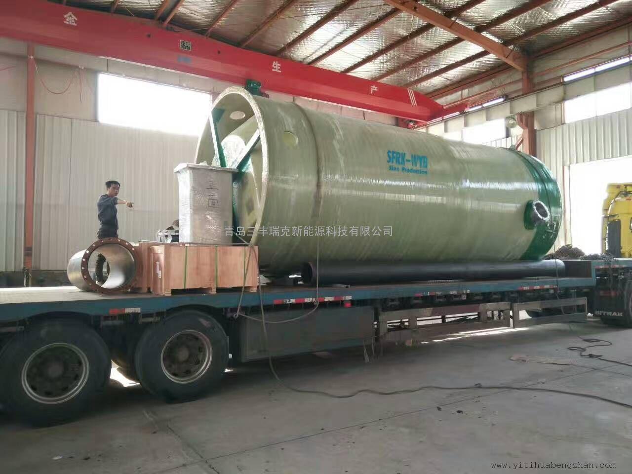 石台县城市重点工程一体化泵站-青岛三丰瑞克