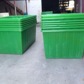 2500L大型塑料酸洗方桶 pe耐酸碱敞口清洗水槽