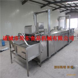 昊东专卖鹰嘴豆加工成套设备 电加热鹰嘴豆油炸机