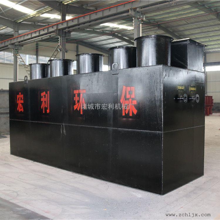 造纸污水处理设备 地埋式造纸一体化污水处理设备