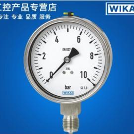 wika压力表选型 EN837-1标准
