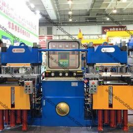 全自动热压硫化机_鑫城橡胶硫化机_橡胶平板硫化机_青岛硫化机