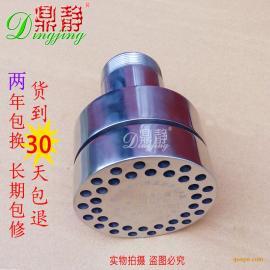化工反��釜蒸汽�放消�器,蒸汽�崮芑厥障�音器��嘴���^