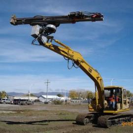 山东省挖掘机改钻机挖掘机改潜孔钻机挖掘机改液压凿岩机
