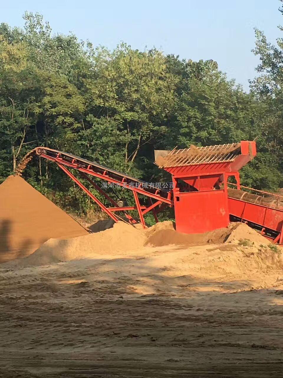漯河龙鑫筛沙机厂,专业生产各种型号筛沙机,批发价