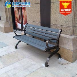 小区户外长椅子