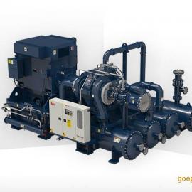 钛灵特高效离心机替代低压双级永磁变频螺杆