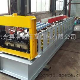 浩鑫压瓦机专业生产750型楼承板机