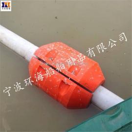 遂宁塑料清淤浮体 清淤管道浮体 管道抽砂浮体