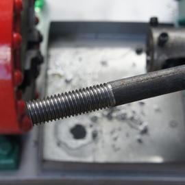 供应圆钢套丝机 M8-M36型高速圆钢套丝机