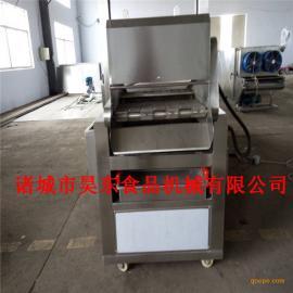 昊东供应面包片油炸机 电加热面包片油炸加工设备
