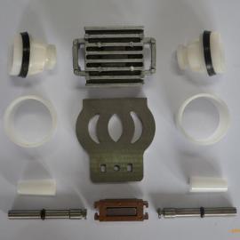 【连泉】QBK气动隔膜泵配件/中间体组件/换向滑盖/滑板/O型圈