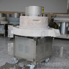 河源电动石磨磨浆机中达送肠粉加工培训