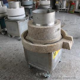 肇庆电动石磨磨浆机肠粉加工专用设备