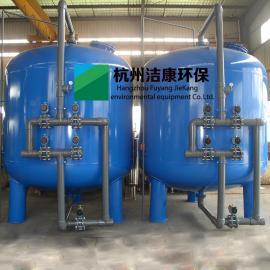 石英砂滤器罐活性炭滤罐器机械过滤器碳钢衬胶不锈钢自动反冲洗