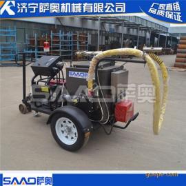 路面养护灌缝机,手扶拖挂两用灌缝机