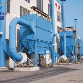 采石厂圆形机械回转反吹扁布袋除尘器方案介绍