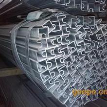 凹槽管生产厂家,镀锌凹槽形钢管