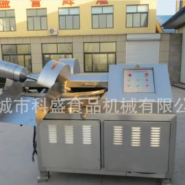 供应千页豆腐斩拌机 125大型高速斩拌机肉类制品加工设备