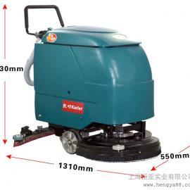 凯叻KL520手推式洗地机工业清洗机电瓶式吸水吸尘机