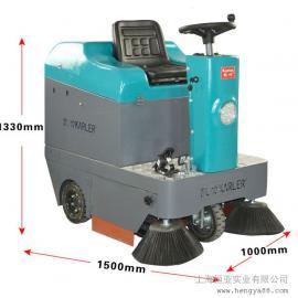 凯叻驾驶式扫地机吸尘车清扫车码头沙子扫地机