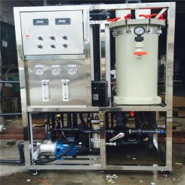 全利环保新品供应电镀废水在线回用系统,产水可保持在10us/cm以�