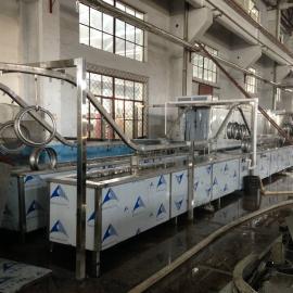 长期定制悬挂式不锈钢水槽拉伸油 抛光蜡全自动清洗机