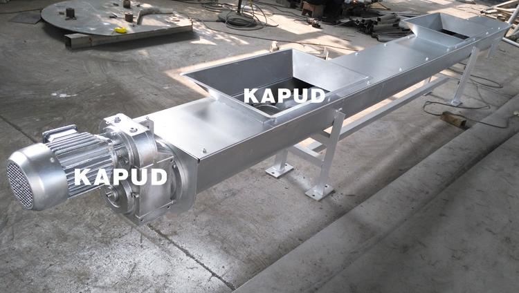 无轴螺旋输送机生产厂家 螺旋输送机价格 凯普德
