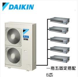 北京大金一拖五家庭中央空调一拖五销售