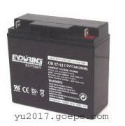 恒力蓄电池CB7-12 12V7AH/20HR江西恒力蓄电池厂家