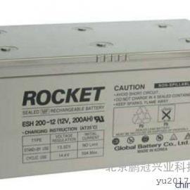ROCKET/火箭蓄电池ESH200-12报价/正品包邮