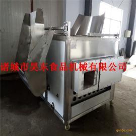 自动控温牛排油炸机 燃煤式牛排油炸设备