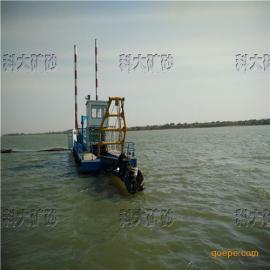 水上清淤船,清淤挖泥船,小型吹沙抽沙机械