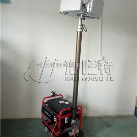 4×150W 带汽油发电机可移动升降式LED照明车灯