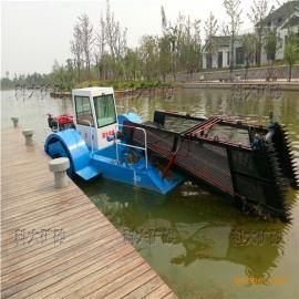 水电站清漂船机械,河流水库清除除草船水葫芦打捞机