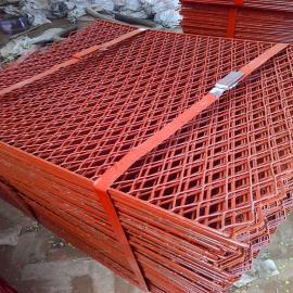 南平市拉伸钢板网――4*8公分孔建筑脚手架钢板网规格可选