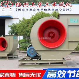 三禾(双台座)离心式通风机 除尘风机 喷漆房风机 右旋90