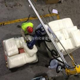 30kgPVC袋搬运吸盘吊具、适用糖盐袋子投料码垛VM气管吸吊机