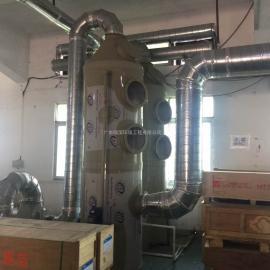 喷淋塔东莞厂家 PP喷淋塔多少钱一套 选好的经久耐用