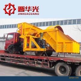 浙江双料斗喷浆车液压自动上料喷浆车
