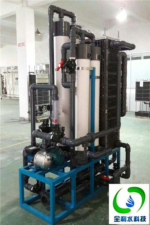 全利环保研磨污水处理回用设备操作说明,污水清澈回用