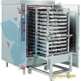 翔鹰大型推车式电热蒸箱不锈钢蒸箱