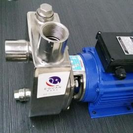 HYLZ小型不锈钢耐腐蚀自吸泵