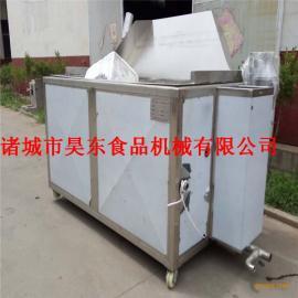 厂家现卖鱼豆腐油炸机 燃气式鱼豆腐油炸设备