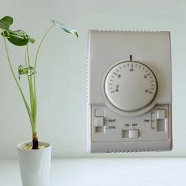 【华阳天地厂家直销】HY1007机械式旋钮中央空调温控器
