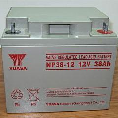 YUASA/汤浅蓄电池NP38-12阀控拭12V38AH铅酸免维护