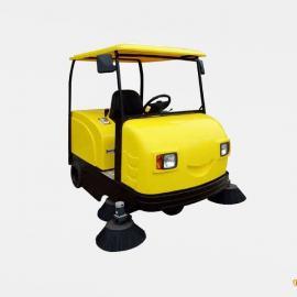 洁友俺去也老色哥物业小区驾驶式扫地车清扫车电动扫地车全自动扫地机