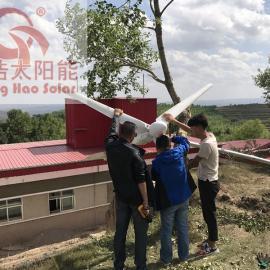 甘肃广电局2kw风光互补发电系统